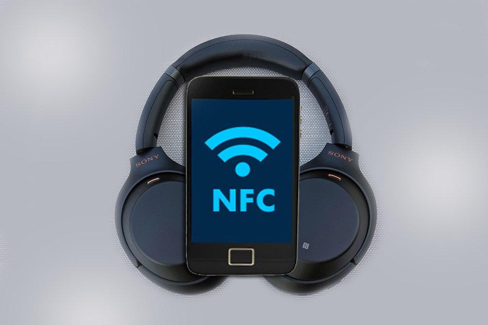 подключить наушники к смартфону по NFC