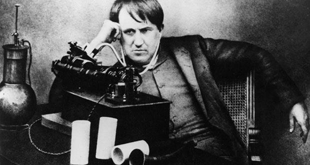 Томас Эдисон и кинетофон
