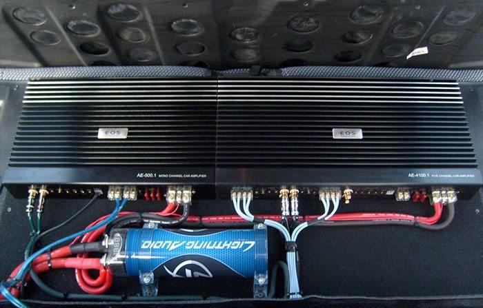 усилитель звука для автомобиля