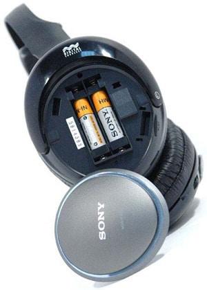 радио наушники на сменных аккумуляторах