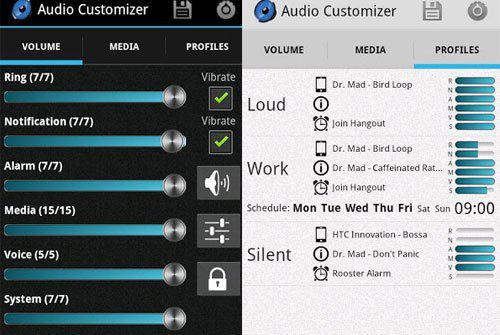 Audio Customizer