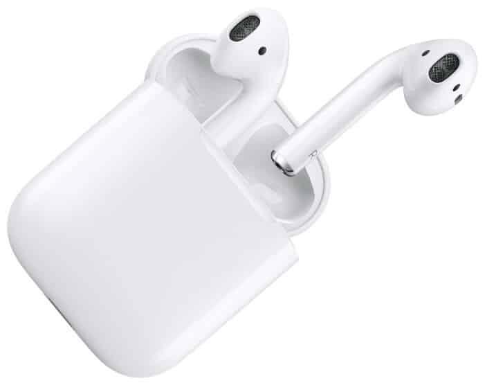 Apple AirPods 2 с зарядным футляром MV7N2