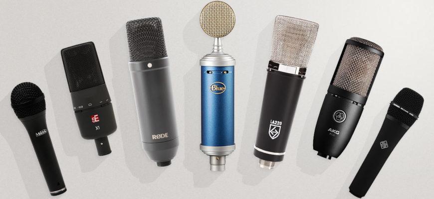 топ микрофонов