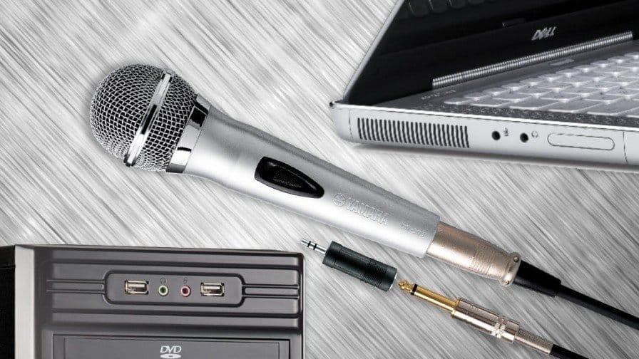 подключить беспроводной микрофон к колонке