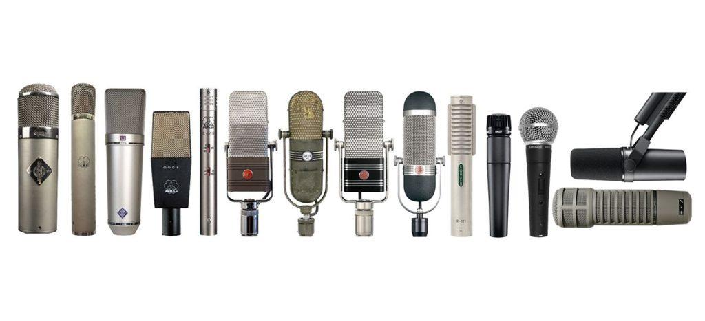 проводные микрофоны