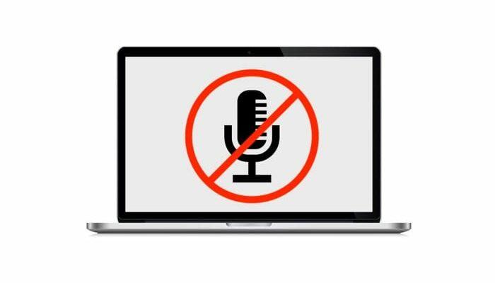 перестал работать микрофон