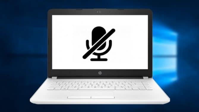 настроить внешний микрофон в Windows 10