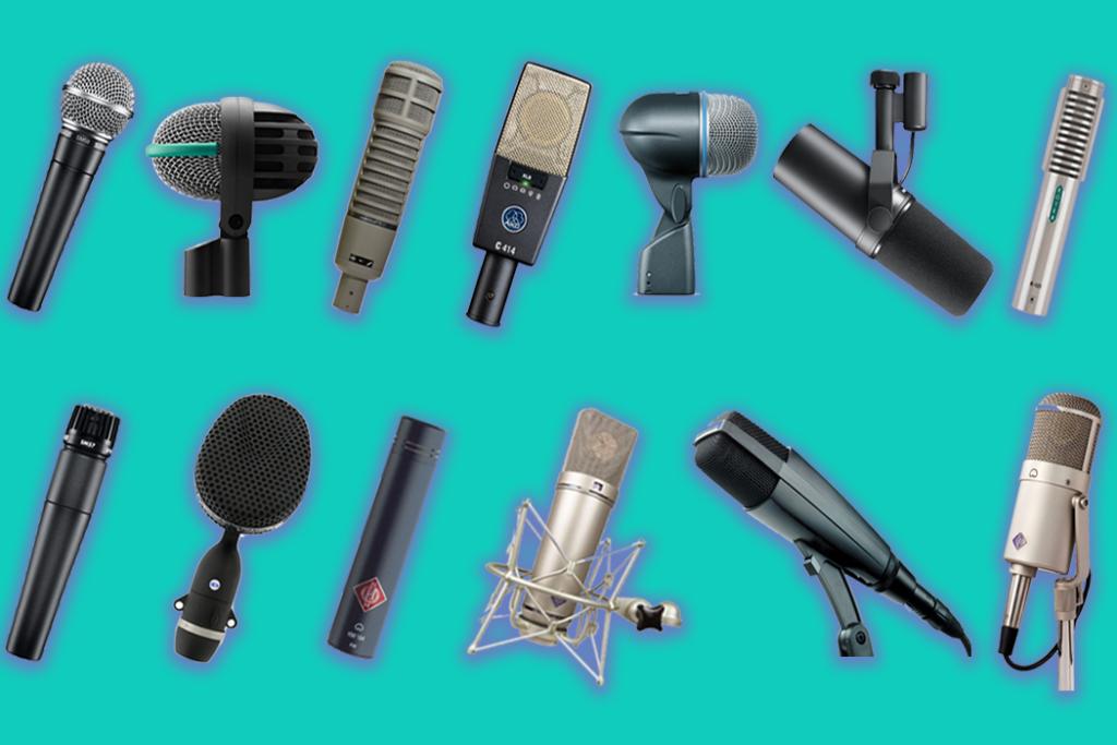 разные фирмы микрофонов