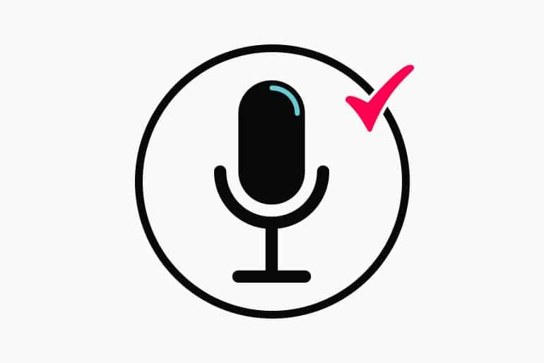 включить микрофон